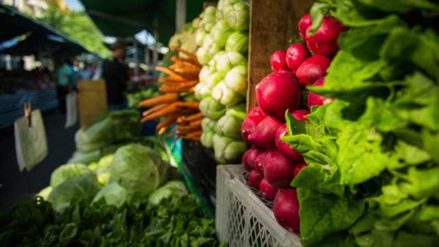 farm market - sao paulo - 農産物品評会点の映像素材/bロール