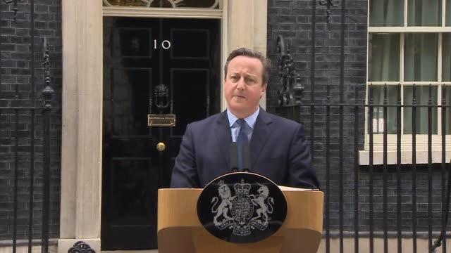 abla583a bbc news rushes lib/cameron referendum statement/1220/20/2 - david cameron politician stock videos & royalty-free footage