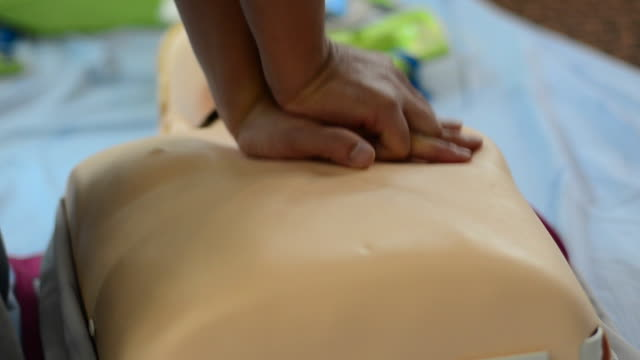 cpr - first aid stock videos & royalty-free footage