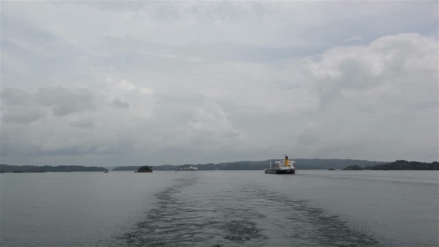panama traffic - panama canal stock videos & royalty-free footage