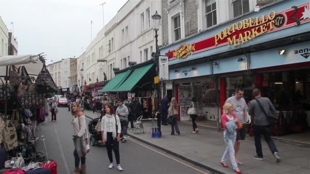 portpbello market - notting hill videos stock videos & royalty-free footage