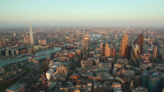 aerial themes river, london, england - city of london stock videos & royalty-free footage