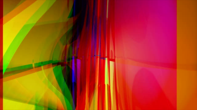 vidéos et rushes de couleur transparente tunnel - verre translucide