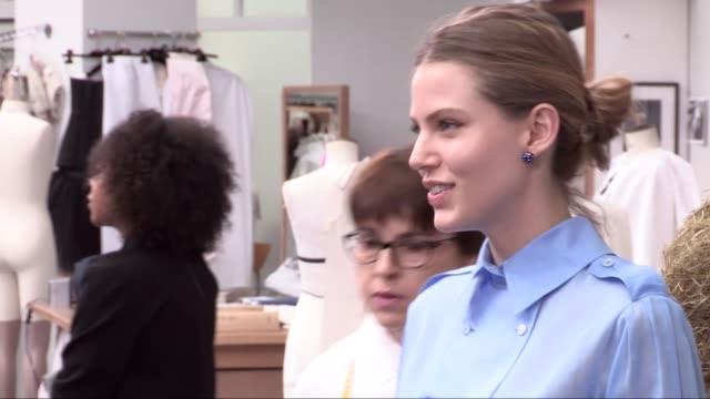 chanel fashion show | haute couture fall winter 16-17 | paris fashion week - ファッションウィーク点の映像素材/bロール