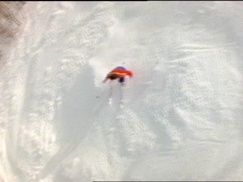 - freistil skifahren stock-videos und b-roll-filmmaterial