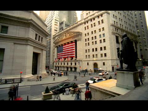 pov - new york stock exchange stock videos & royalty-free footage