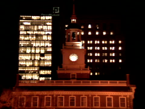 pov - independence hall stock videos and b-roll footage