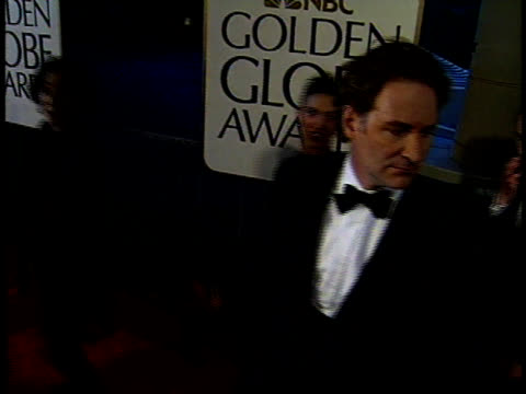 kevin kline with wife phoebe cates greets an italian reporter as he walks down the red carpet - kevin kline actor stock videos & royalty-free footage