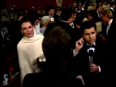 64th academy awards: audrey hepburn on the red carpet. - audrey hepburn stock videos & royalty-free footage