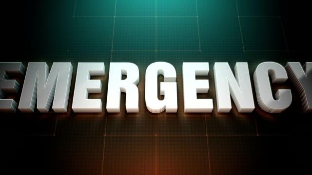 緊急事態 - 戦略点の映像素材/bロール