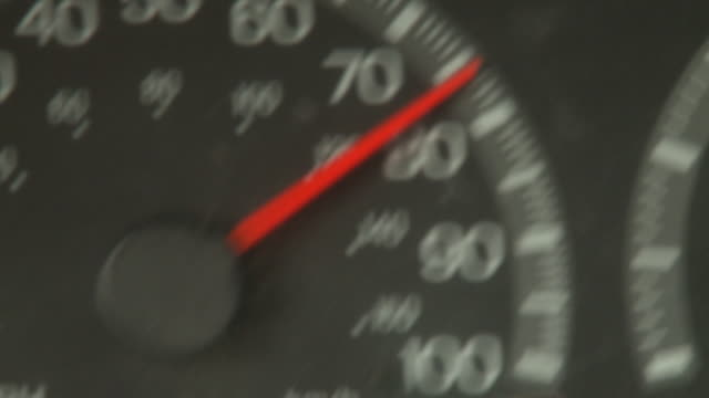 close angle of foot stepping on gas pedal while driving car. series. - speedometer stock videos & royalty-free footage