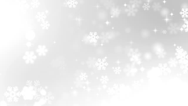 backgrounds loopable - snowflake stock videos & royalty-free footage