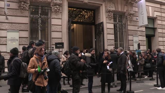 ELIE SAAB FASHION SHOW   HAUTE COUTURE SPRING SUMMER 2017   PARIS FASHION WEEK