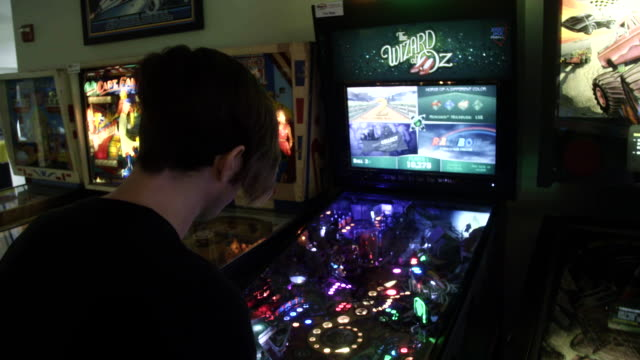 - pinball machine stock videos & royalty-free footage