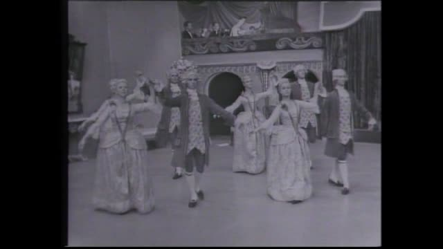 """invitation to the dance"" was one the first programs produced in tvw perth studio one in 1963 / program traced the history of dance over a four... - narrating stock videos & royalty-free footage"