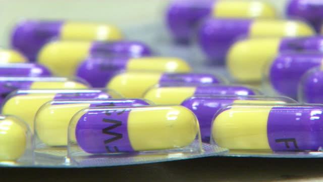 news rushes) - prescription medicine stock videos & royalty-free footage