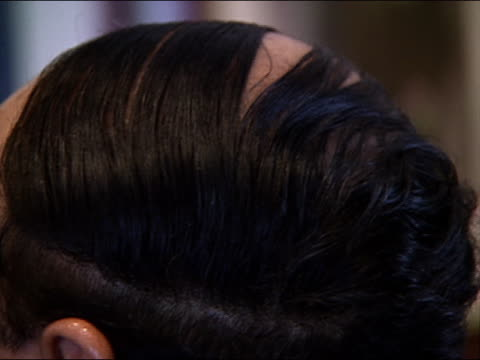 - human hair stock videos & royalty-free footage