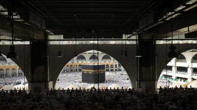 mekka, saudi arabien - hajj stock-videos und b-roll-filmmaterial