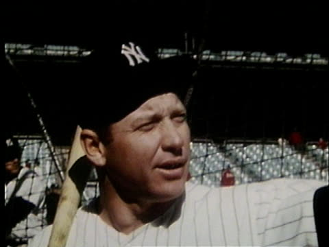 UNS: 13th August 1995 - 25 Years Since Death Of Yankee Legend Mickey Mantle