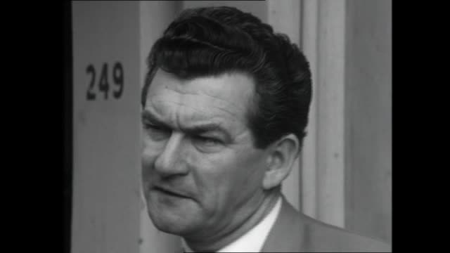 bob hawke has been elected as the new actu president interview young bob hawke re wants to see modernized trade union movement increased research role - bob hawke stock videos and b-roll footage