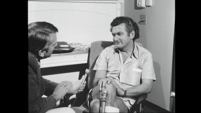 bob hawke has been elected to the presidency of the australian labor party while still holding onto his actu position interview bob hawke sitting in... - bob hawke stock videos and b-roll footage