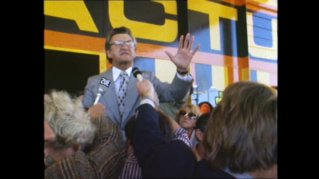 bob hawke at actu solo service station tanker drivers protest - bob hawke stock videos and b-roll footage