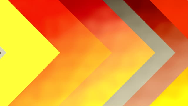 4k arrow backgrounds loopable - giallo video stock e b–roll