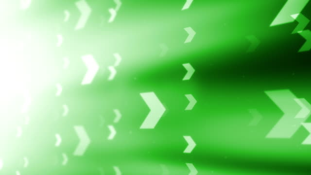 4K ARROW GREEN BACKGROUNDS LOOPABLE