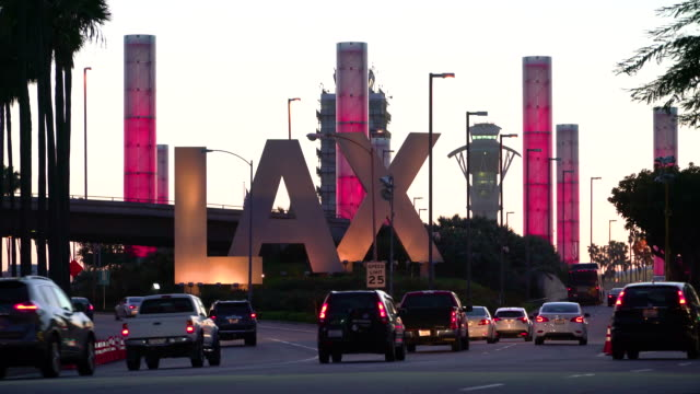 lax 1 - lax airport stock videos & royalty-free footage