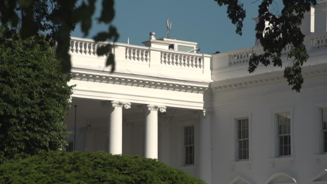 the white house - weißes haus stock-videos und b-roll-filmmaterial