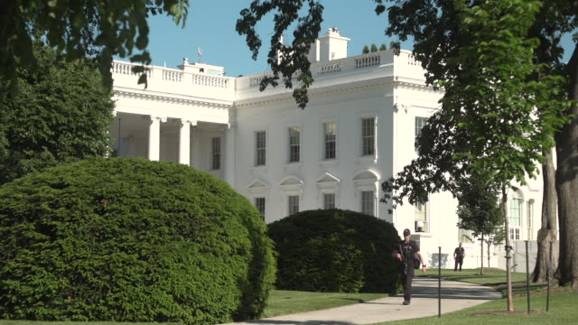 the white house - demokratie stock-videos und b-roll-filmmaterial