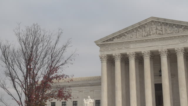us supreme court - architectural column stock videos & royalty-free footage