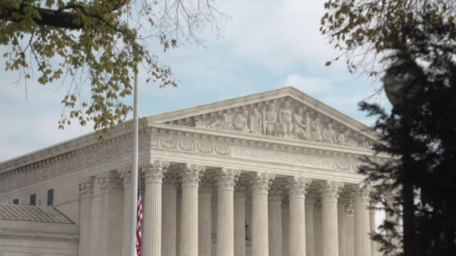us supreme court - us supreme court building stock videos and b-roll footage