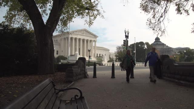 vídeos y material grabado en eventos de stock de us supreme court - tribunal supremo de los estados unidos washington dc