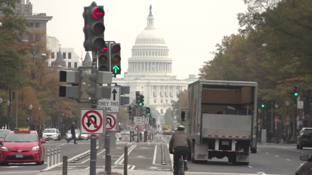 us capitol building - blinking arrow stock videos & royalty-free footage