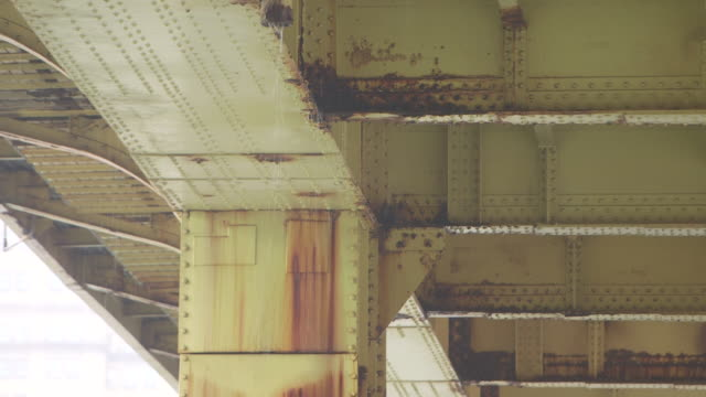 andy warhol bridge, pittsburgh - deterioration stock videos & royalty-free footage