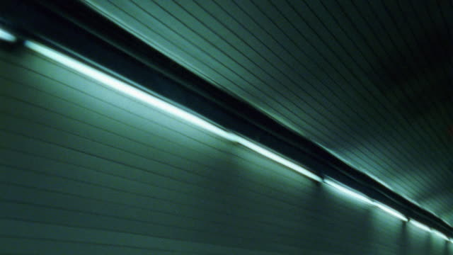 tracking shot of the long fluorescent lights in an underground tunnel. probably the holland tunnel. - tunnel stock videos & royalty-free footage