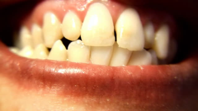 teeth (hd) - human mouth stock videos & royalty-free footage