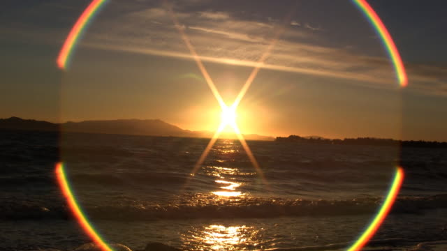 vídeos de stock, filmes e b-roll de sol ring (hd - parélio