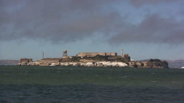 alcatraz (hd) - alcatraz island stock videos & royalty-free footage
