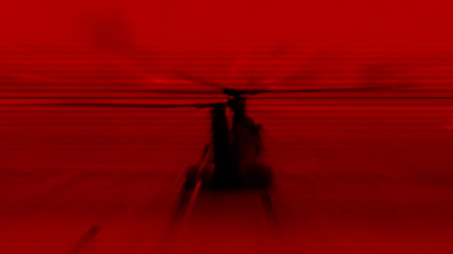 helicopter red (hd) - helicopter landing stock videos & royalty-free footage