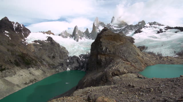 patagonia. torres del paine panorama - patagonia chile stock videos and b-roll footage