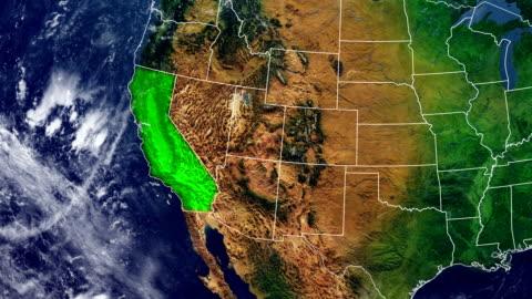 california karta - kartografi bildbanksvideor och videomaterial från bakom kulisserna