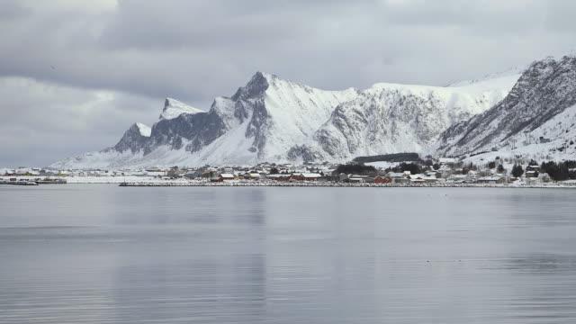 lofoten islands. bahia - aptenia stock-videos und b-roll-filmmaterial