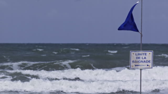 the beach - flag stock videos & royalty-free footage