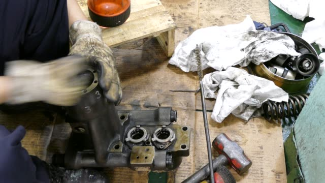 cleaning - fuel pump stock videos & royalty-free footage