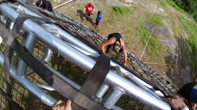 POV UP AND OVER CARGO NET
