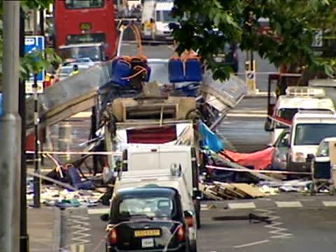 al qaeda bombing campaign on london transport network - selbstmord stock-videos und b-roll-filmmaterial