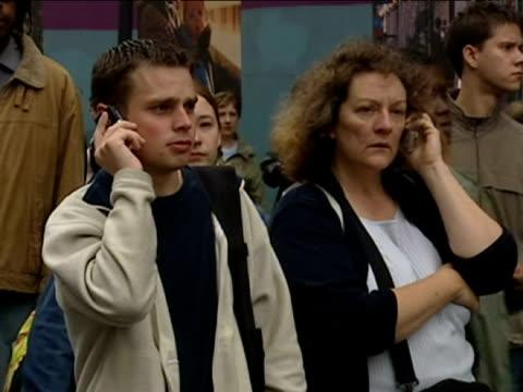 al qaeda bombing campaign on london transport network - bombardamento video stock e b–roll