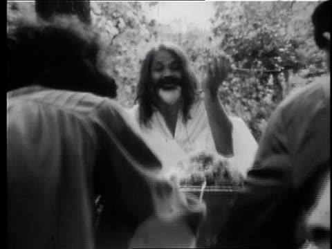 - maharishi mahesh yogi stock videos & royalty-free footage